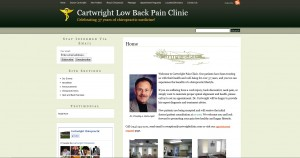 Michigan based Chiropractor