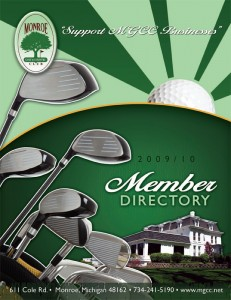 Country Club Member Directory cover