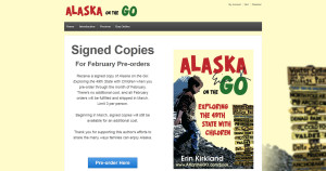 Alaska on the Go author's book ordering website