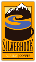 Web page design for Silverhook Alaska Coffee of Anchorage, Alaska