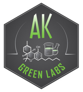 AK Green Labs cannabis testing facility in Anchorage Alaska logo