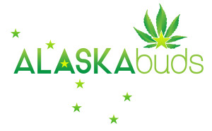 ALASKAbuds Anchorage, AK recreational marijuana product dispensary logo design