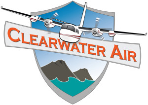 Logo and Website Design for Clearwater Air of Soldotna, Alaska