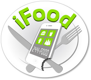Logo design for the iFood food truck in Anchorage, Alaska
