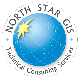Logo design for North Star GIS Technical Consulting Services of Eagle River, AK