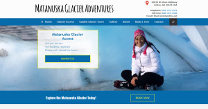 Matanuska Glacier of Alaska Access, Hikes and Guided Tours in Summer and Winter