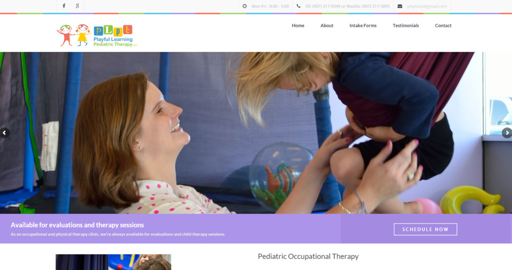 Playful Learning Pediatric Therapy in Eagle River and Wasilla, Alaska