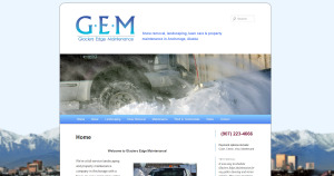 Snow Removal and Landscaping in Anchorage Alaska with Glaciers Edge Maintenance