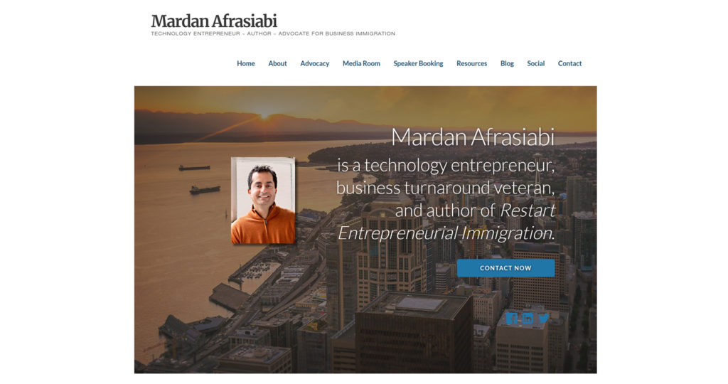 Mardan Afrasiabi website at DanAfrasiabi.com