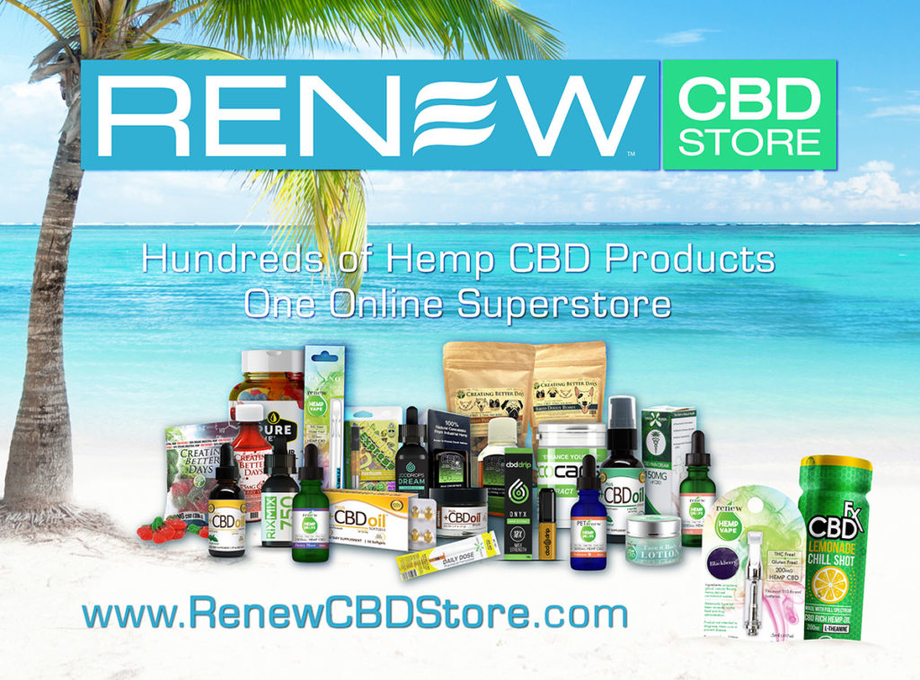 Alaska's Renew Hemp CBD Store & Hemp CBD Brand of Products