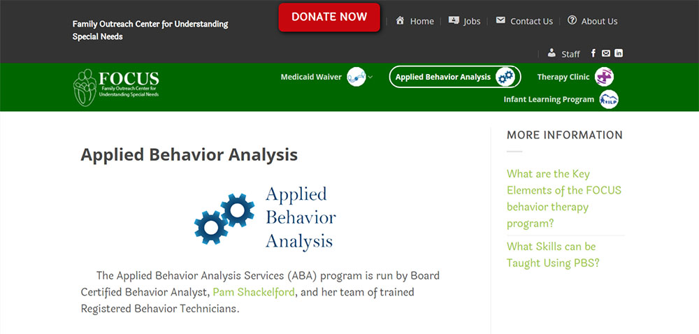 eagle river pediatric physical and occupational therapists applied behavior analysis services